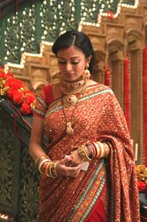Still image of Alisha Khan as Purva
