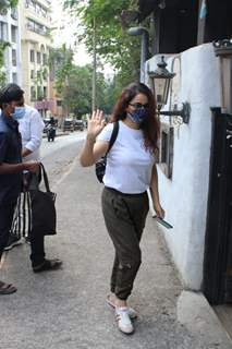 Tisca Chopra snapped around the town