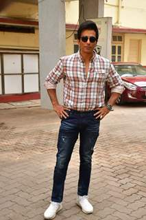Sonu Sood snapped at Bandra