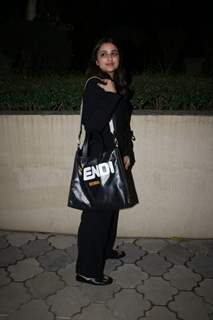 Parineeti Chopra at The Girl on the Train screening!