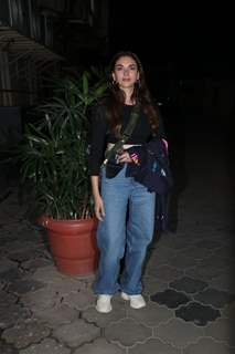 Aditi Rao Haydri at The Girl on the Train screening!