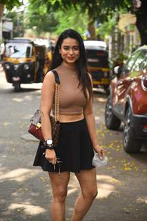 Soundarya Sharma snapped at Andheri