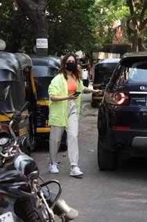 Tamannaah Bhatia snapped at Maddock Films Santacruz