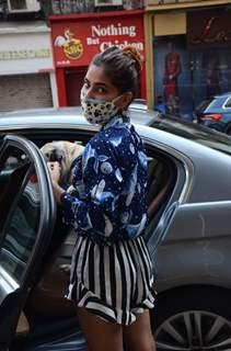 Karishma Sharma snapped in Lokhandwala, Andheri