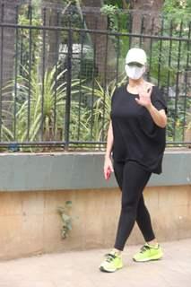 Neha Dhupia snapped in Bandra