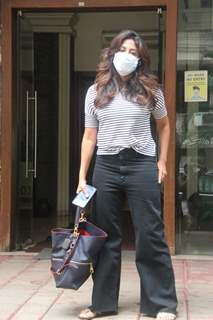 Chitrangda Singh spotted outside clinic in Khar