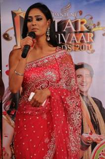 Shweta Tiwari at STAR Parivaar Awards 2010