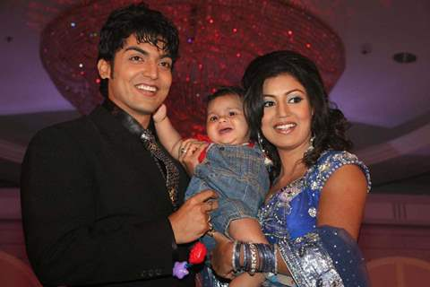 "Gurmeet Chaudhary and Debina Bonnerjee at the launch of ""Pati, Patni Aur Woh"""