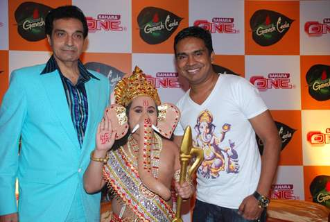 Sahara One launches new serial ''Ganesh Leela'' at Hotel Sea Princess, in Mumbai