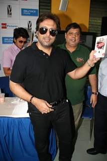 Govinda on ''Do Knot Disturb'' video conference at Reliance Web World in Mumbai
