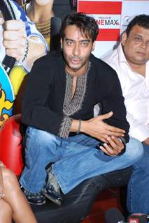 Ajay Devgan on promotional event of his film ''All The Best'' in Mumbai