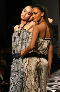 Designer Ritu Beri collection in Wills Lifestyle India Fashion Week in New Delhi on Saturday 24 Oct 2008