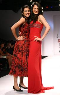 Tania Sachdev at the Wills Lifestyle India Fashion Week in New Delhi on Sunday 25 Oct 2009