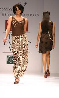 Reynu Tondon''s show at the Wills Lifestyle India Fashion Week