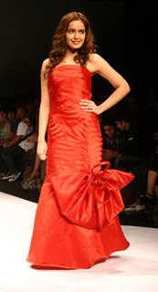 Designer Amit Gt''s show at the Wills Lifestyle India Fashion Week in New Delhi on Tuesday 27 Oct 2009