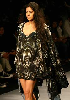 Designer Parshant Verma''s creation at the Wills Lifestyle India Fashion week in New Delhi on Tuesday 28 Oct 2009