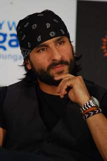 Saif Ali Khan at press meet for Kurbaan at JW Marriott
