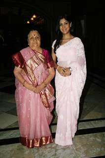 Sakshi Tanwar and Sudha Shivpuri on Dignity Donor event at Taj, Colaba in Mumbai on Monday Afternoon