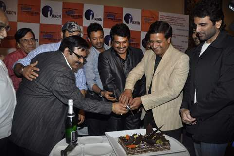 Irfan Khan and Sunny Deol at Right Ya Wrong success bash at Novotel