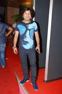 Kailash Kher at Raajneeti film success bash at Novotel