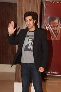 Ranbir Kappor at Raajneeti film success bash at Novotel