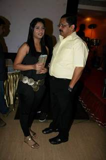 Tiku Talsania at SAB TV''s Sajan Re Jhoot Mat Bolo bash at Hotel Royal Garden