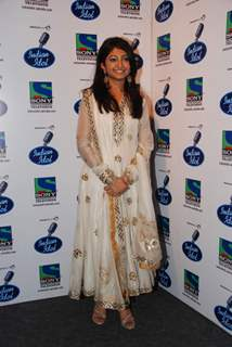 Bhoomi at Indian Idol 5 grand finale at Filmistan