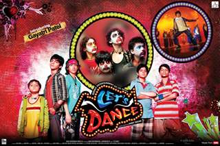 Lets Dance movie poster with kids