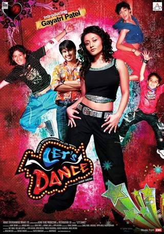 Lets Dance poster with all the cast