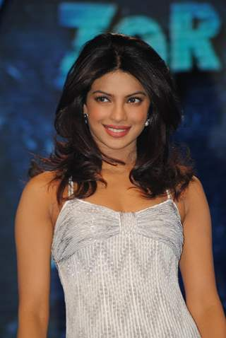 Priyanka Chopra on the sets of 'Zor Ka Jhatka Total Wipeout'