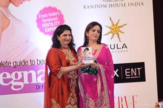 Nita Ambani at the Dr. Firuza Parikh's book Launch - A Complete Guide to becoming pregnant. .