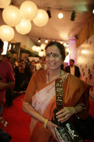 Usha Nadkarni at Big Television Awards at YashRaj Studios