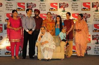 Cast and Crew at launch of SAB TV serial Ammaji Ki Galli at JW Marriott