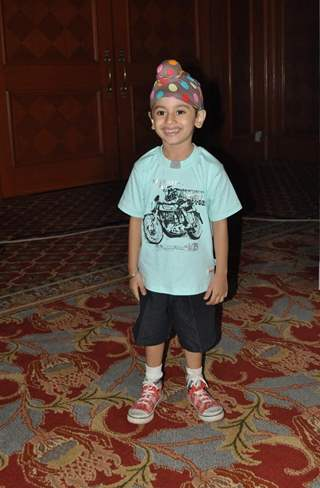 Krish Parekh at launch of SAB TV serial Ammaji Ki Galli at JW Marriott