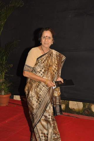 Usha Nadkarni at the Gold Awards at Film City