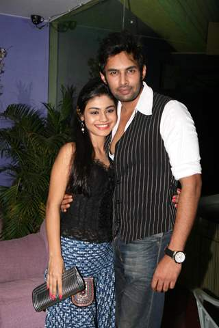 Sreejita De and Rahul Raj Singh at Music launch party of 'Koi Roko Na'