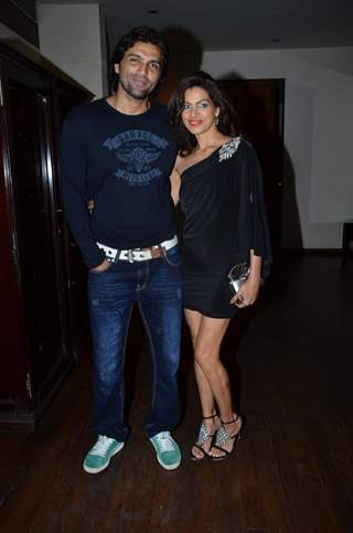 Chetan Hansraj with wife Lavina at Munisha Khatwani birthday party was a rocking affair