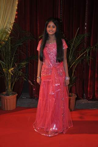 Ulka Gupta at ITA Awards at Yashraj studios in Mumbai