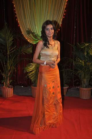 Bhairavi Raichura at ITA Awards at Yashraj studios in Mumbai