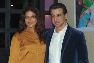 Ronit Roy with wife at launch party of show Ek Hazaaron Mein Meri Behna & 100 ep.of Dil Dostii Dance