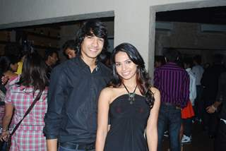 Sneha Kapoor and Shantanu Maheshwari of Dil Dostii Dance at the 100 ep completion party of their sho