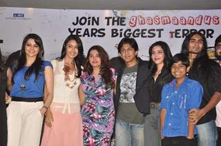 Cast and Crew at Press meet of film 'Shakal Pe Mat Ja' in Novotel