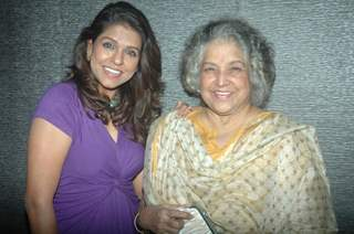 Bhavana Balsawer, Shubha Khote at SAB TV show Gutur Gu success bash
