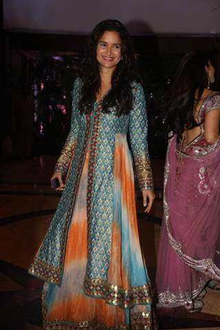 Sushma Reddy at Ritesh Deshmukh & Genelia Dsouza Sangeet ceremony at Hotel TajLands End in Mumbai