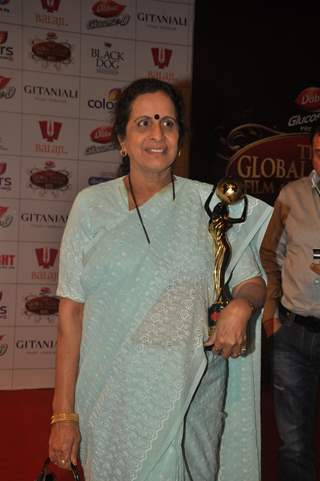 Usha Nadkarni at Global Indian Film & TV Honours Awards 2012