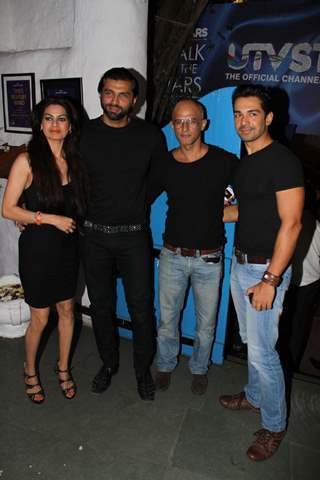 Lavina Hansraj, Chetan Hansraj, Rajesh Khera and Abhinav Sht UTV Stars Walk of the Stars after party
