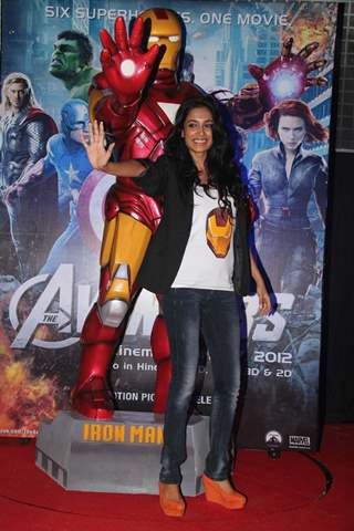 Sushma Reddy at the film premiere of 'Avengers' at PVR
