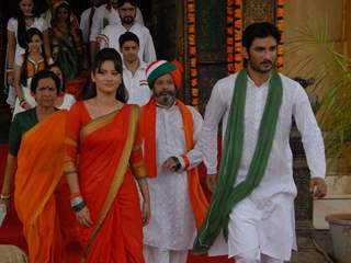 Ankita Lokhande, Sushant Singh Rajput Celebrating Independence Day