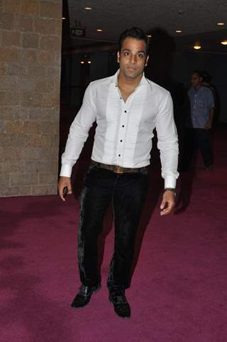 Abhishek Avasthi at Sab Ke Anokhe Awards