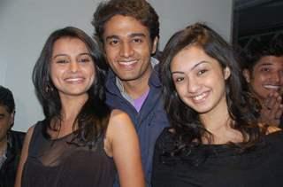 Gaurav with Vandana & Abigail